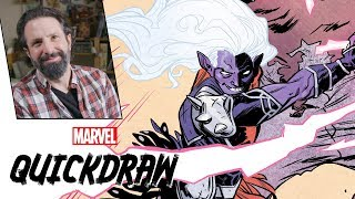 Artist Ramón Pérez Draws Malekith |Marvel Quickdraw