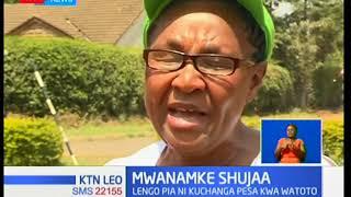 Mwanamke shujaa anayeshiriki mbio kadhaa za masafa marefu kwa minajili ya kufaidi wasiojiweza.