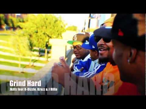 "HH J-Killa and Family Business J-Rilla, K-Dizzle, Krazz, ""Grind Hard"""