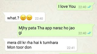 Heart Touching Story || Rejection By A Crush || Whatsapp Chat||