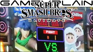 Super Smash Bros. Ultimate - Ice Climbers VS Ike on Boxing Ring (SDCC 2018) - dooclip.me