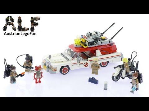 Vidéo LEGO Ghostbusters 75828 : Ecto-1 et 2