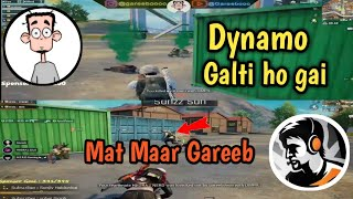 Dynamo Gaming Vs Gareeboo, Gareeboo Killed Dynamo Squads Mistakenly. What happened Actually?