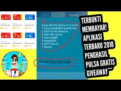 Baru 2018 Aplikasi Penghasil Pulsa Gratis Hp Pereferal 5000 Mp3 Laguku