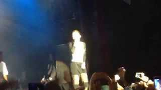 """Zendaya performing """"Love You Forever"""" at the Best Buy Theatre NYC"""