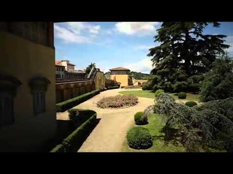 Villa Medici bij Florence