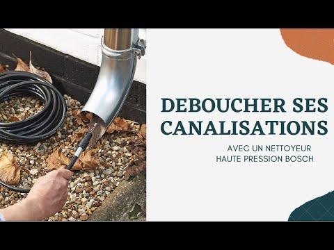 Déboucheur de canalisation pour nettoyeur haute pression 10 m Bosch