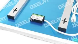 450W, 220V Carbon Crystal Heating Panel - 50.5x90.5x2.2cm