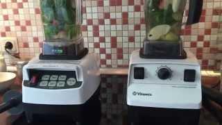 Vergleich: JTC Omniblend V vs. Vitamix TNC 5200