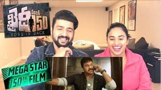 Khaidi No 150 Trailer Reaction  Mega Star Chiranjeevi  Khaidi No 150 Official Trailer