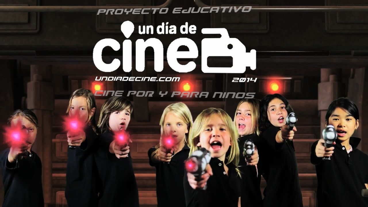 Kids In Black. Proyecto educativo Un Dia de Cine