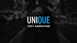 Smooth Text Animation in After Effects - After Effects Tutorial
