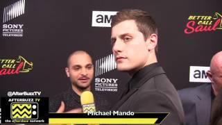 Michael Mando Interview   Season 3 Premiere   Better Call Saul