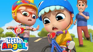 You Can Ride Your Bike   A Safety Song   Little Angel Kids Songs