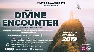 RCCG 2019 SPECIAL DIVINE ENCOUNTER || DAY 3