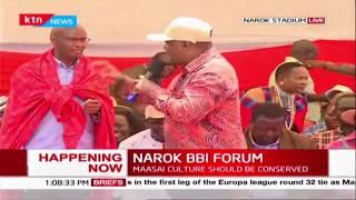 John Mbadi addresses issues of boundary review during Narok BBI Forum