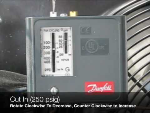 Adjusting A Danfoss Dual Pressure Control & Reset High Pressure Cut Out