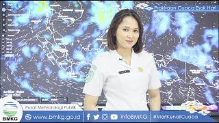 Prakiraan Cuaca BMKG di 33 Kota Besar, Kamis, 10 Juni 2021: Jakarta Pusat Hujan Ringan di malam Hari