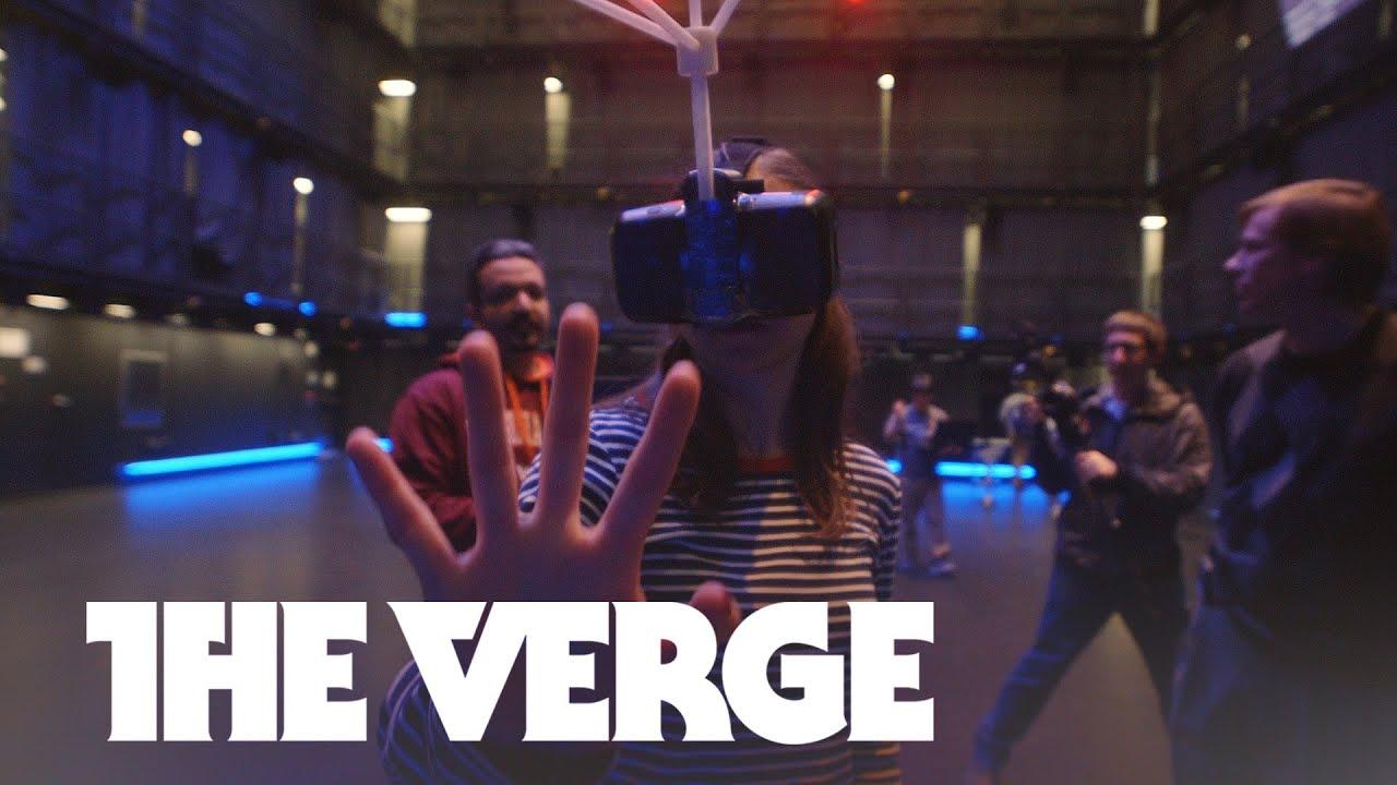 Welcome to Virginia Tech's giant virtual reality room thumbnail
