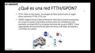 Introducción a Redes FTTH y GPON ¿cómo comenzar