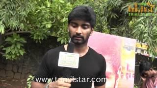 Adharvaa at Irumbu Kuthirai Movie Press Meet