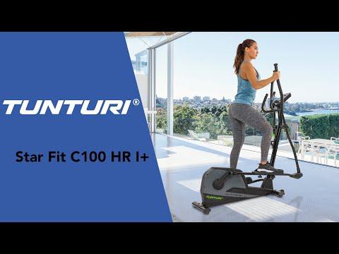 Promovideo: Eliptický trenažér TUNTURI StarFit C100 HR