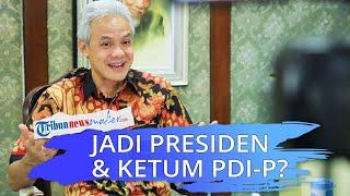 Ganjar Pranowo Disebut Berpotensi Jadi Presiden & Ketum PDi-P, Ahli: Apa Mega dan Puan Rela?