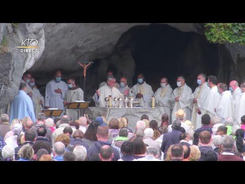 Messe de 10h à Lourdes du 3 août 2021