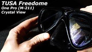 Маска для дайвинга TUSA Freedom HD прозрачный силикон от компании МагазинCalipso dive shop - видео