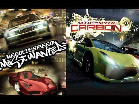Need For Speed (Most Wanted, Carbon) Вторая половина второго эшелона