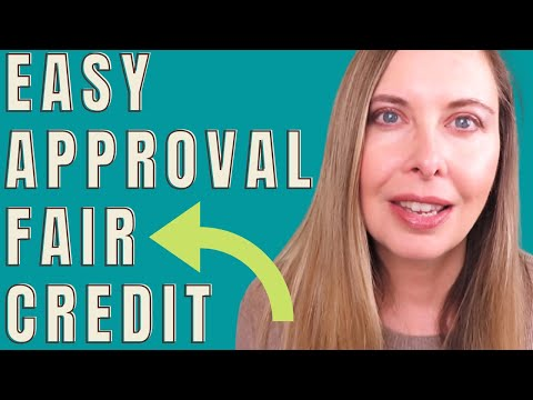 20 credit cards for fair credit - Easy Credit Approval 2020