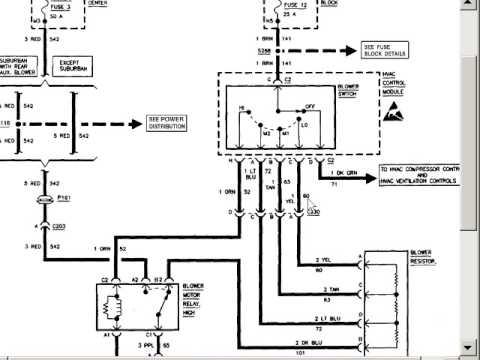 Wiring Diagram For 06 Pontiac G6 Blower Motor