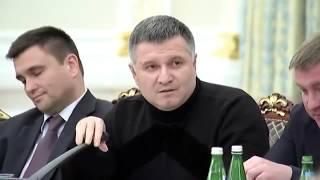 Арсен Аваков Матерится на Михаила Саакашвили (Оригинал, полное видео)
