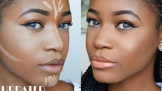 DETAILED Highlight & Contouring Routine Beginner Friendly ♥