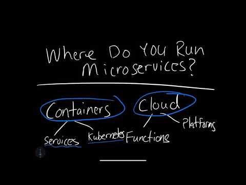 Learn where you can run a Microservice
