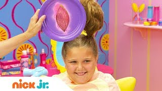 How to Create a Bunny Hairstyle Tutorial 🐇| Sunny Day's Style Files | Nick Jr.