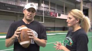 Throwing the Perfect Spiral Football: ProTips 009
