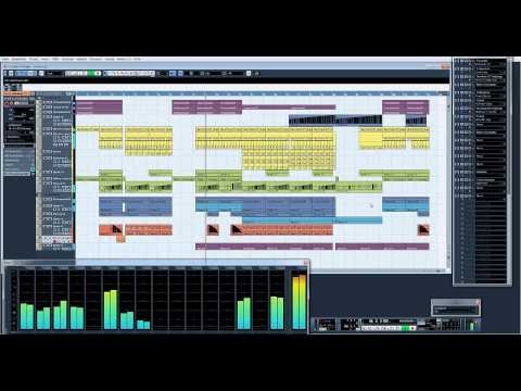 First Dance/Trance Cubase VST Song 2013