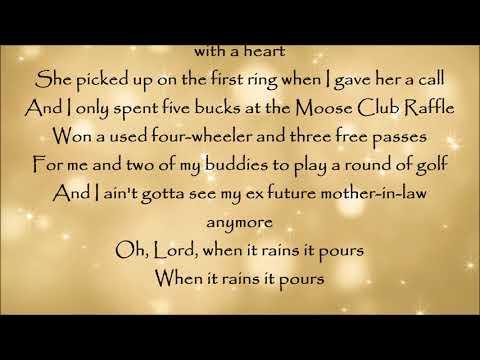 When It Rains It Pours - Luke Combs Lyrics