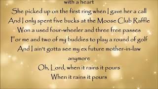 When It Rains It Pours   Luke Combs Lyrics