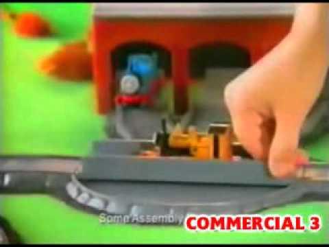Thomas The Tank Engine ERTL Commercials 1994-1996