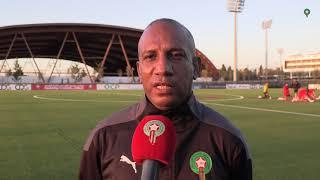 تصريح طبيب المنتخب المغربي بخصوص الحالة الصحية للاعبي