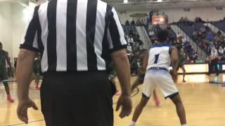 Cheikh Sow throws down a dunk for Teaneck