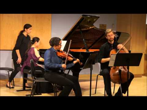 Mendelssohn Piano Trio in D minor, Op.49 3rd mvt-Scherzo. Leggiero e vivace...