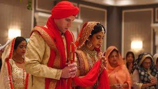 The Dearborn Inn Sikh & Jewish Wedding | Shaziah + Peter Same Day Film