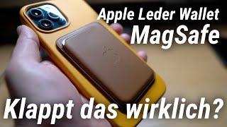 Apple Leder Wallet mit MagSafe: Klappt das wirklich? (Test)