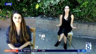 Vanessa And Laura Marano On Bringing Attention To Human Trafficking