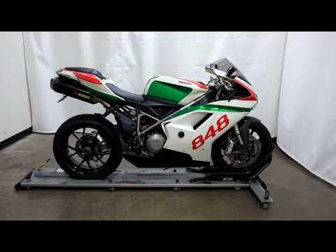 2009 Ducati Superbike 848 in Eden Prairie, Minnesota - Video 1