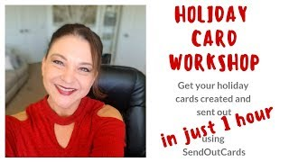 SendOutCards Holiday Card Sending Workshop