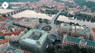 ???? Prague Stock Footage | DJI Phantom 4 4K Royalty free stock video footage